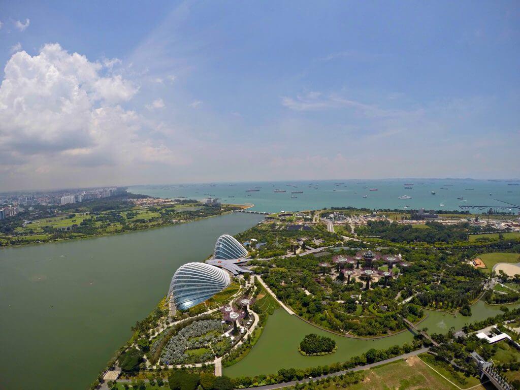 Bird's view Singapore