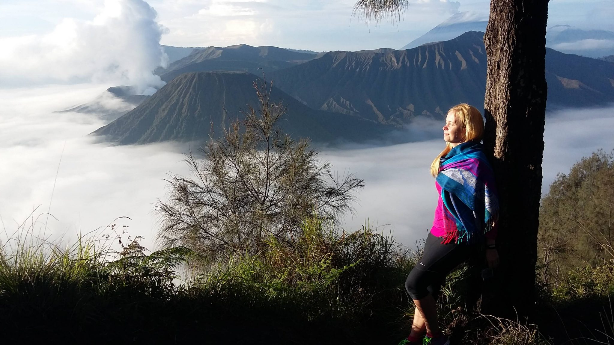 Sunrise in Bromo Tengger Semeru National