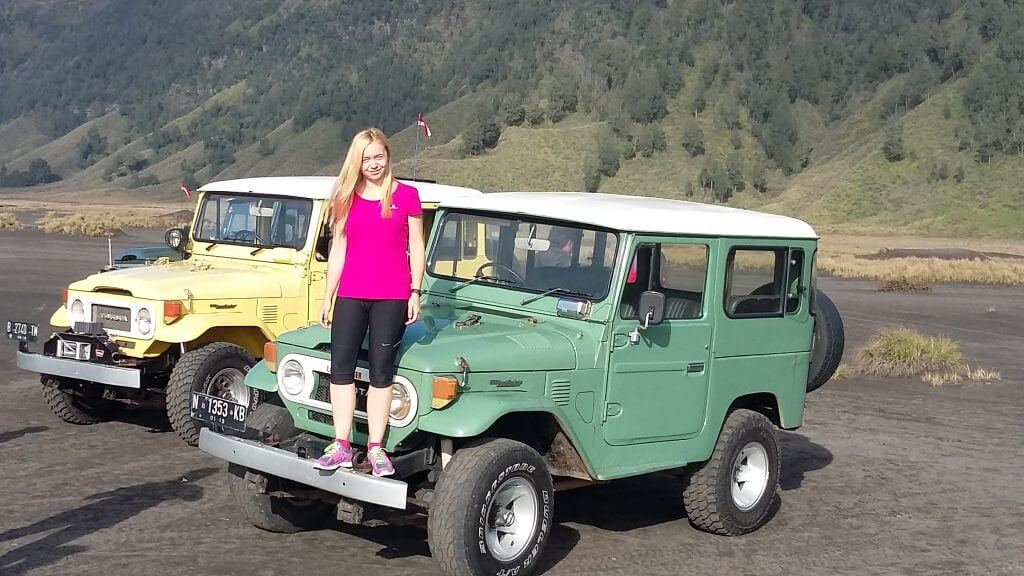 Old Jeeps that makes adventure more memorable by spontaneously stopping during the way up a mountain