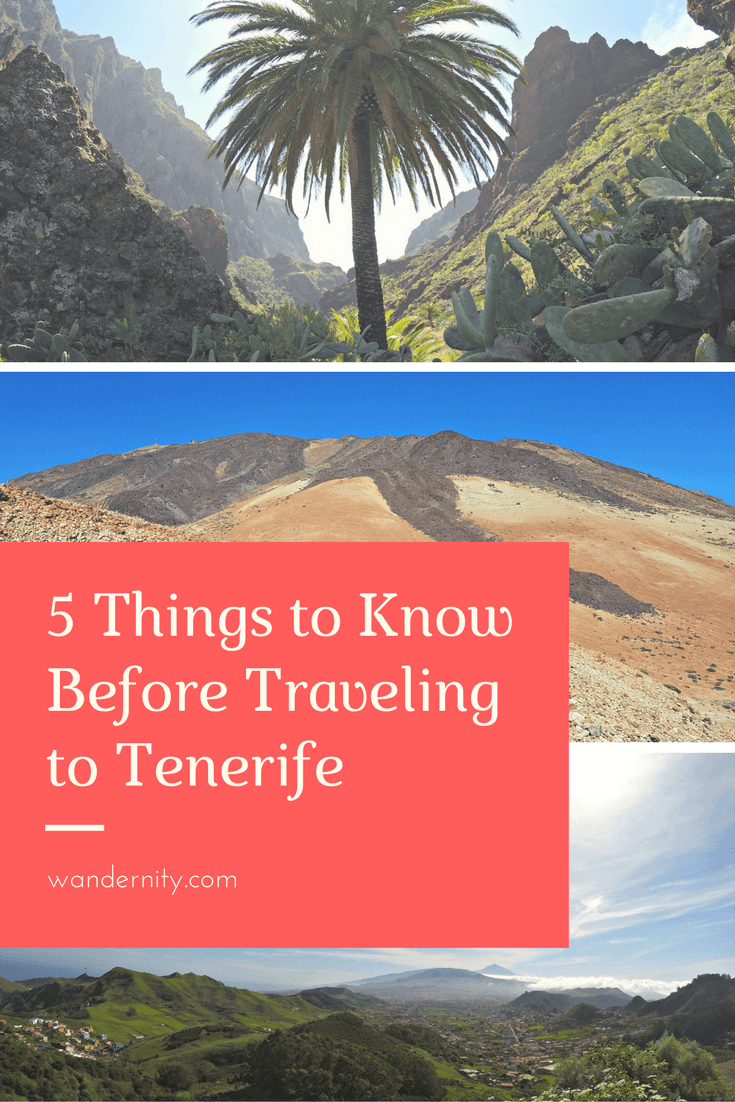 5 Things to Know Before Traveling to Tenerife