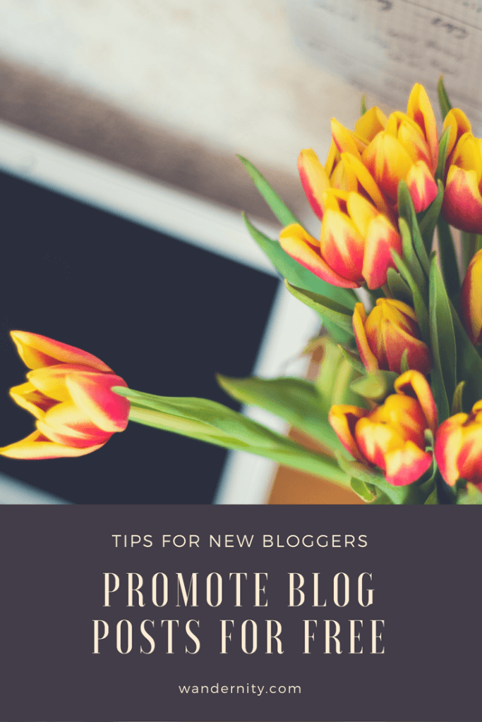 Easy and free ways how to promote blog posts