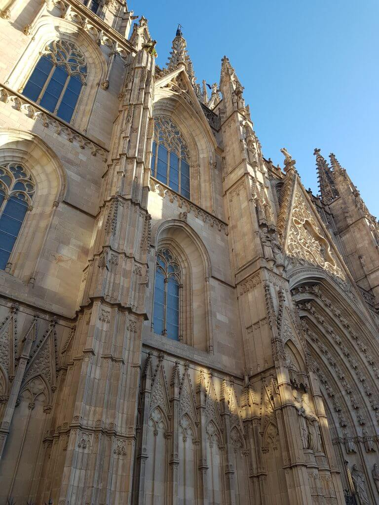 Barcelona Cathedral is a gem in the Gothic Quarter