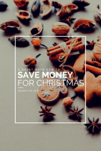 5 great ways how to save money for Christmas