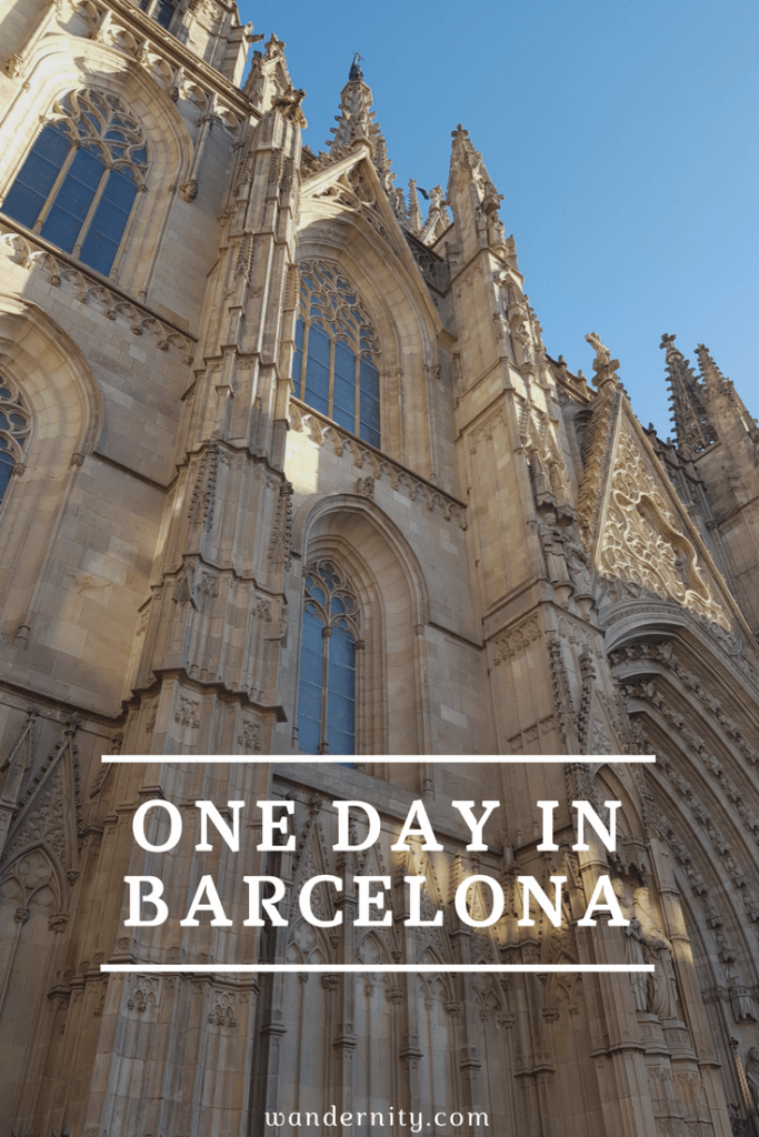 Barcelona itinerary for one day visitors to Barcelona, Spain. Bucketlist guide to exploring Barcelona.