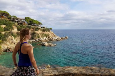 Lloret de mar hiking trail