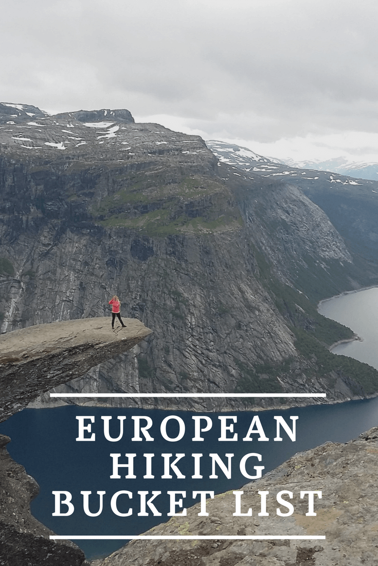 European Hiking Trail Bucket List -