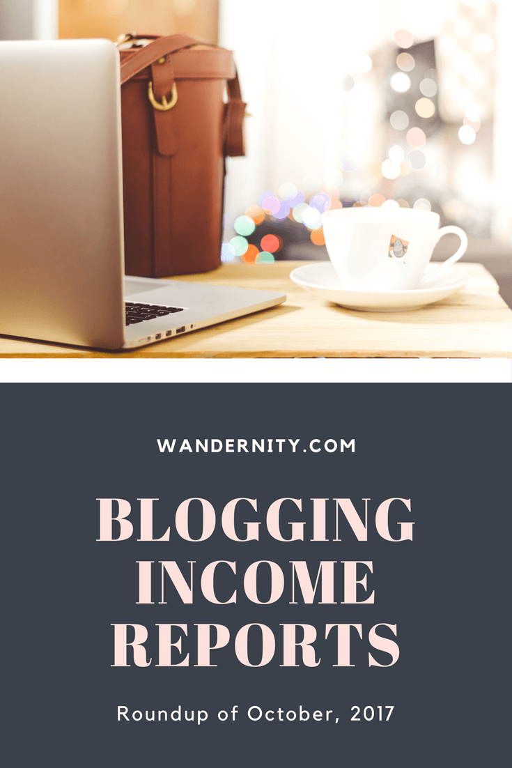 How Bloggers Made Money in October, 2017 -