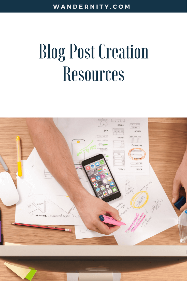 Blog Post Creation Resources -