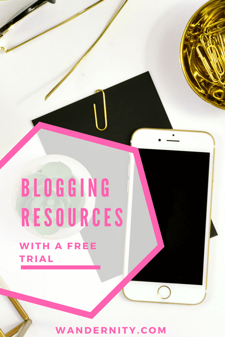 Blogging Resources with Free Trials -