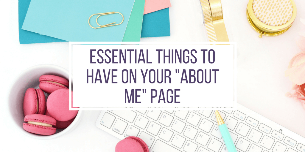 "4 Easy Steps To Quickly Write An Amazing ""About Me"" Page -"