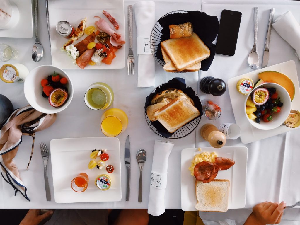 Mother's Day Travel Ideas - Have a brunch in a new restaurant